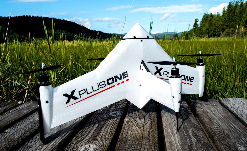 xCraft's flagstaff product - the X Plus One Drone