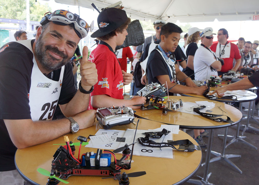 Drone Racers Prepare for the Drone National Races