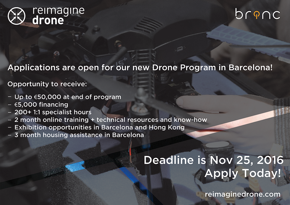Snapshot of the benefits to Reimagine Drone Incubator particiapants
