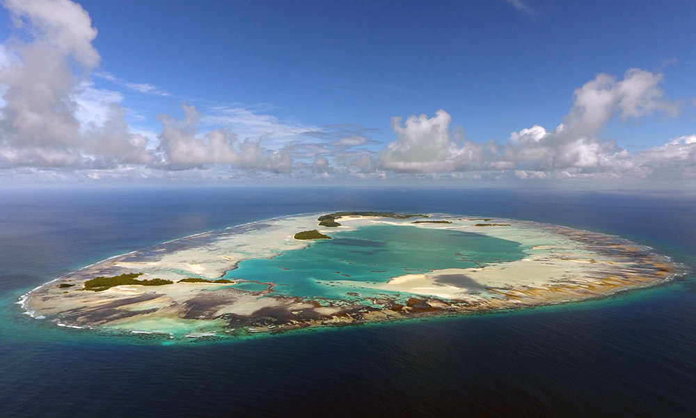 Seychelles Atoll for Drone Mapping