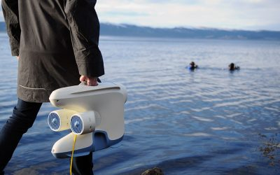 The View Below The Water – Christine Spiten, Blueye Robotics