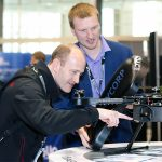 Where can you go to connect with the latest advancements in the drone industry?