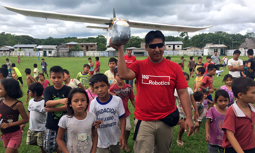 Drones And Humanitarian Relief  – Patrick Meier, WeRobotics