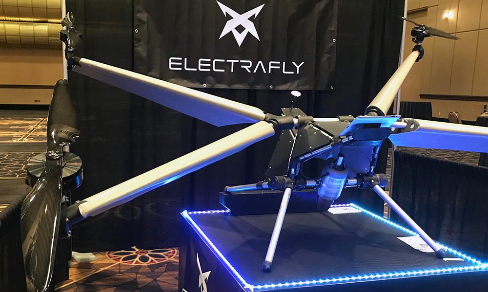 Are Personal Flying Drones On the Horizon?: John Manning, Electrafly