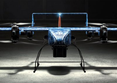 What's the market for long-distance drone delivery service?