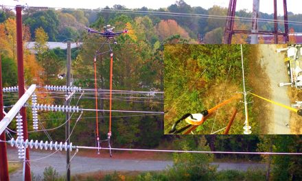 Using Drones To measure power line ResiStance